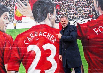 016-jamie carragher-23 foundation-lfc legends-street art mural-anfield mural