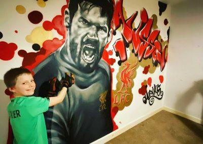 017-Liverpool-FC-graffiti-wall-art-in-a-child's-bedroom