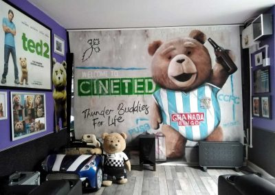 037-Ted-themed-bedroom-with-large-wall-art