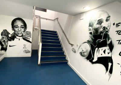 083-school street art-high school art-murals-sporting legends-basketball-kobe-bryant