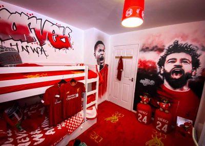 137-Liverpool-FC-Bedroom-with-Graffiti-Art