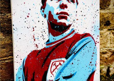 England legend-whu-bobby moore-bm6-hammers art-west ham united-mural-graffit drawing-street art-print