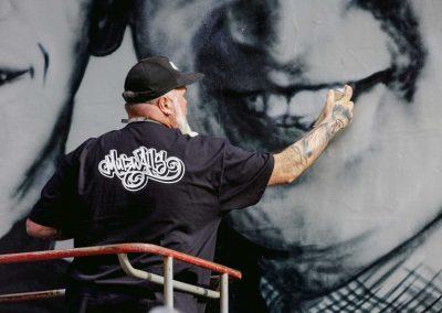 Street-Artist-Paints-Beatles-Mural