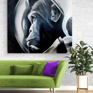 Nasa-Space-Chimp-graffiti-Limited-Edition